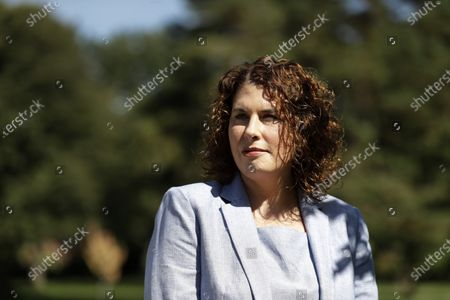 Stock Picture of Mary Pat Carl poses for a photo, in St. Louis. Carl is challenging incumbent Kim Gardner in next week's Democratic primary for St. Louis circuit attorney