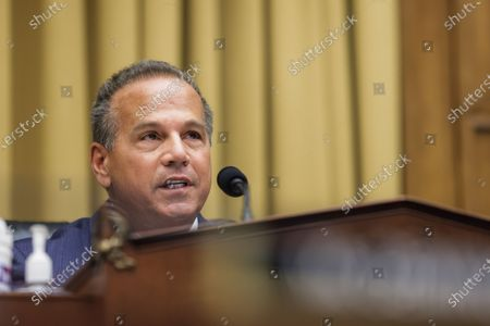 Commercial and Administrative Law House Subcommittee Chairman David N. Cicilline speaks during a House Judiciary Subcommittee on Antitrust, Commercial and Administrative Law on 'Online Platforms and Market Power' in the Rayburn House office Building on Capitol Hill in Washington, DC, USA, on 29 July 2020.