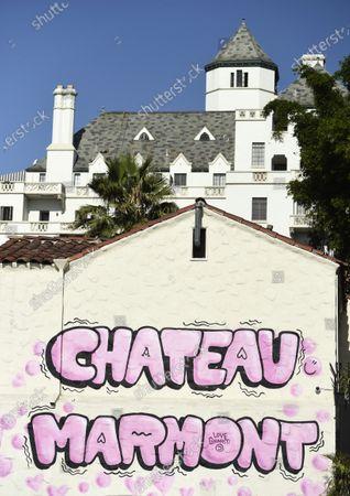 Editorial image of Hollywood Landmarks, Los Angeles, United States - 29 Jul 2020