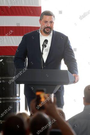Editorial photo of Trump, Midland, United States - 29 Jul 2020