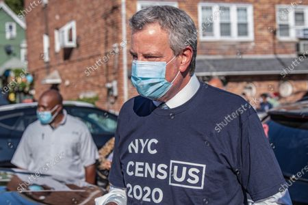 Editorial picture of Census Outreach in New York, US - 29 Jul 2020