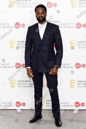 Editorial image of Virgin Media British Academy Television Awards, Arrivals, London, UK - 31 Jul 2020