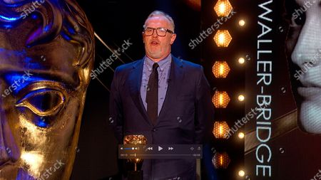 Greg Davies presents the Female Performance in a Comedy award