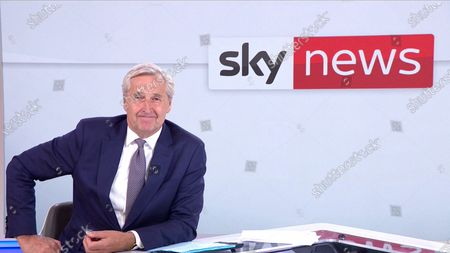Stock Picture of Mark Austin accepts the News Coverage award for Hong Kong Protests (Sky News)