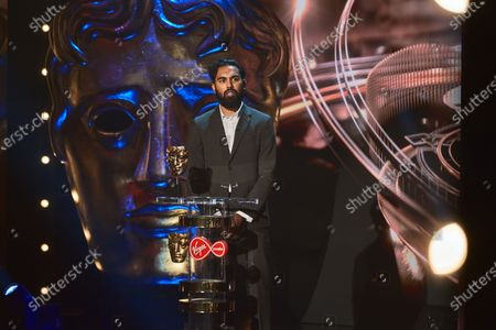 Himesh Patel presents the Supporting Actress award