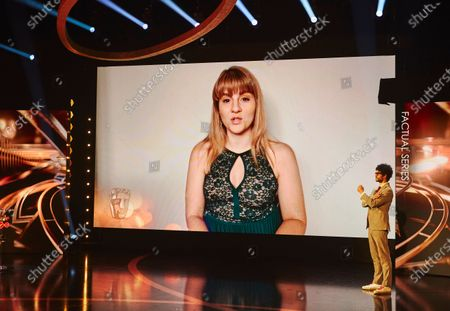 Ruth Madeley presents the Factual Series award