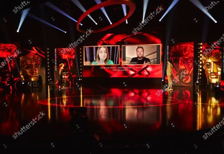 Editorial image of Virgin Media British Academy Television Awards, Ceremony, London, UK - 31 Jul 2020