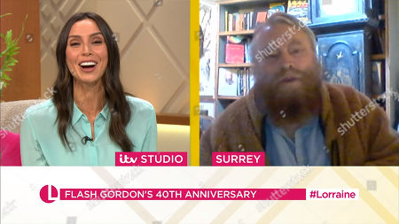 Stock Photo of Christine Lampard, Brian Blessed