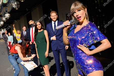 Taylor swift and Meghan and Harry