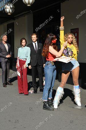 Editorial photo of Madame Tussauds re-opening, London, UK - 30 Jul 2020