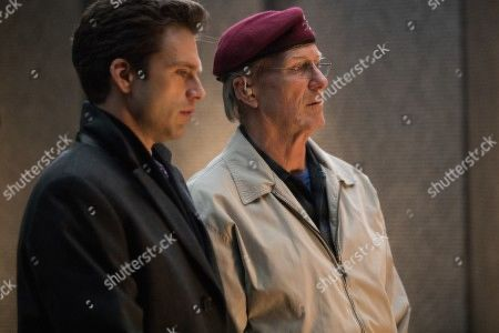 Sebastian Stan as Scott Huffman and William Hurt as Tom Tulley