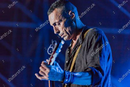 Editorial photo of Alex Britti in concert, Italy - 29 Jul 2020