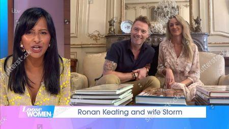 Ronan Keating, Storm Keating, Ranvir Singh