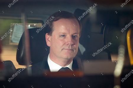 Charlie Elphicke leaves Southwark Crown Court following the guilty verdict.