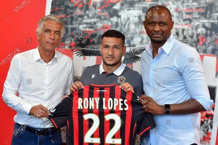 Jean-Pierre Rivere, Rony Lopes, Patrick Vieira