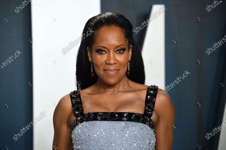 """Regina King arrives at the Vanity Fair Oscar Party in Beverly Hills, Calif. on . The Toronto International Film Festival on Thursday unveiled a lineup featuring King's directorial debut """"One Night in Miami, a drama about a young Muhammad Ali, then Cassius Clay. The festival, which is set to run Sept. 10-19, has plotted a largely virtual 45th edition due to the pandemic"""