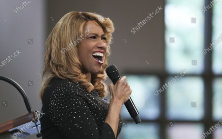 Jennifer Holliday sings 'Only what you do for Christ will last' diuring the Celebration of Life Service for civil rights leader and Democratic Representative from Georgia John Lewis at Ebenezer Baptist Church in Atlanta, Georgia, USA, 30 July 2020. Lewis died at age 80 on 17 July 2020 after being diagnosed with pancreatic cancer in December 2019. John Lewis was the youngest leader in the March on Washington in 1963.