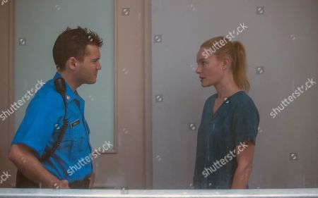 Emile Hirsch as Cardillo and Kate Bosworth as Troy
