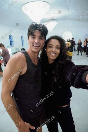 Stock Picture of Taylor Zakhar Perez as Marco Pena and Maisie Richardson-Sellers as Chloe Winthrop