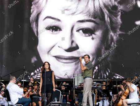 Editorial picture of Film music concert, Budapest, Hungary - 30 Jul 2020