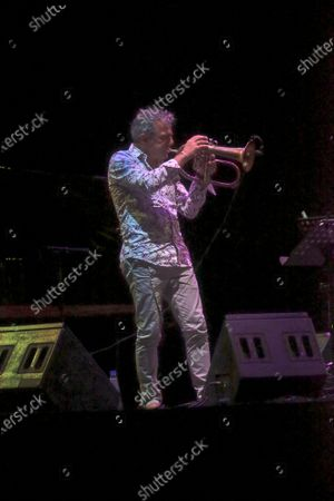 Editorial image of Una Striscia Fonda di Terra jazz festival, Rome, Italy - 30 Jul 2020