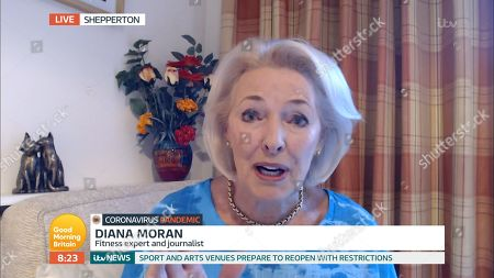 Stock Image of Diana Moran