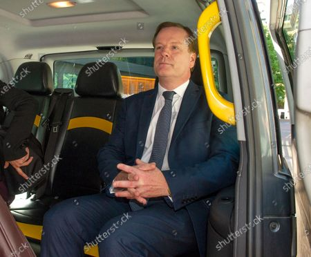 Former Dover MP Charlie Elphicke leaves Southwark Crown Court today after being found guilty of sexual assault and is to be sentenced on September 15th