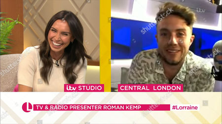 Stock Picture of Christine Lampard and Roman Kemp