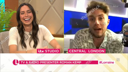 Christine Lampard and Roman Kemp