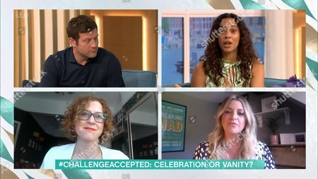 Dermot O'Leary, Rochelle Humes, Kat Brown and Anna Williamson