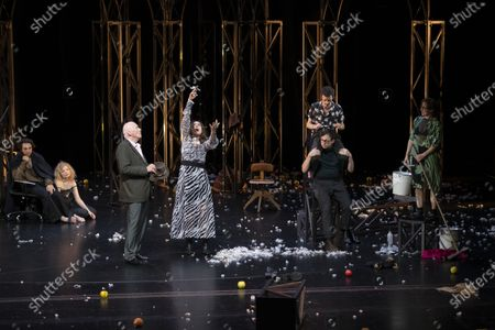 Editorial picture of Zdenek Adamec dress rehearsal at the Salzburg Festival, Austria - 30 Jul 2020