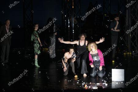 Editorial image of Zdenek Adamec dress rehearsal at the Salzburg Festival, Austria - 30 Jul 2020