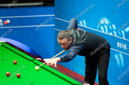 Editorial image of Exclusive - Betfred World Snooker Championship, Day One, Crucible Theatre, Sheffield, UK - 31 Jul 2020