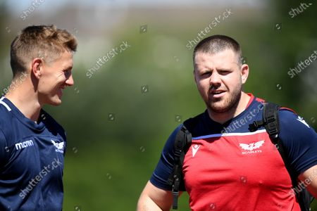 Editorial photo of Scarlets Rugby Training - 30 Jul 2020