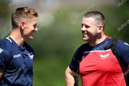 Editorial picture of Scarlets Rugby Training - 30 Jul 2020