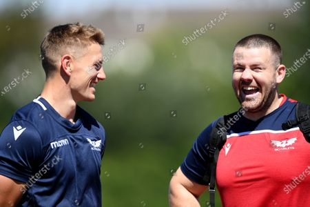 Editorial image of Scarlets Rugby Training - 30 Jul 2020