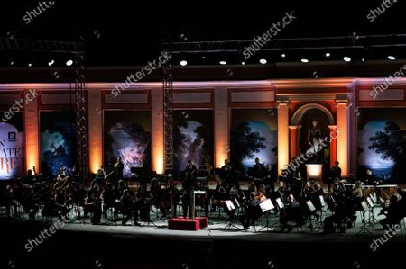 Editorial photo of National Academy of Santa Cecilia Orchestra, Caserta, Italy - 30 Jul 2020