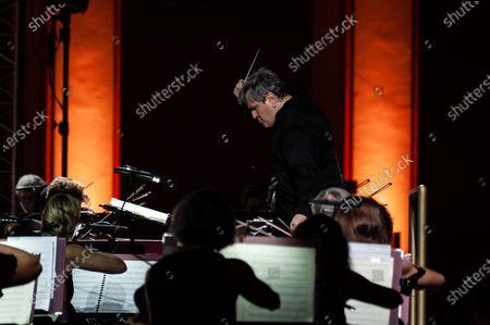 Editorial image of National Academy of Santa Cecilia Orchestra, Caserta, Italy - 30 Jul 2020
