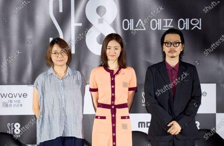 Editorial image of Press conference for drama SF8 in Seoul, Seoul, South Korea - 08 Jul 2020