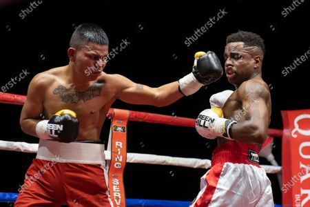 Editorial picture of The featherweight Mondongo beats Castillo, Rome, Italy - 30 Jul 2020