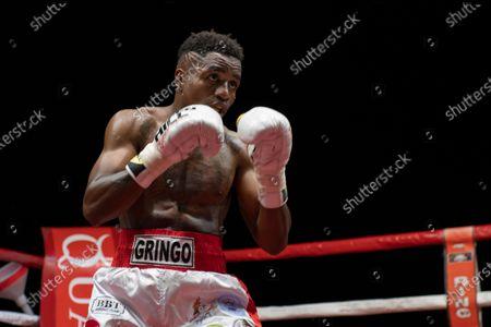 Stock Photo of The featherweight Christopher Mondongo beats Rafael Castillo.