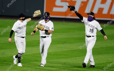 Editorial picture of Padres Rockies Baseball, Denver, United States - 01 Aug 2020