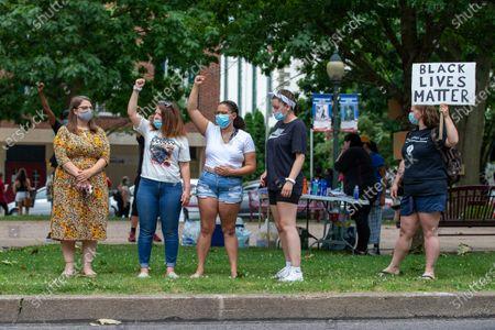 Editorial image of US: Sunbury, PA BLM Protest, United States - 12 Jul 2020
