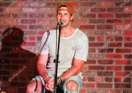 Russell Dickerson performs