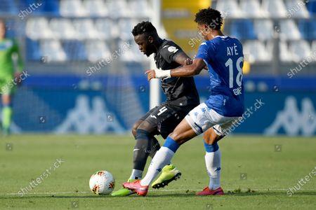 Ronaldo Vieira Nan (Sampdoria)Florian Aye (Brescia)