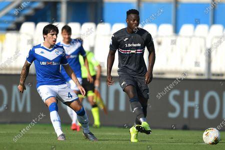 Ronaldo Vieira Nan (Sampdoria)Sandro Tonali (Brescia)