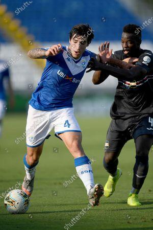 Sandro Tonali (Brescia) Ronaldo Vieira Nan (Sampdoria)