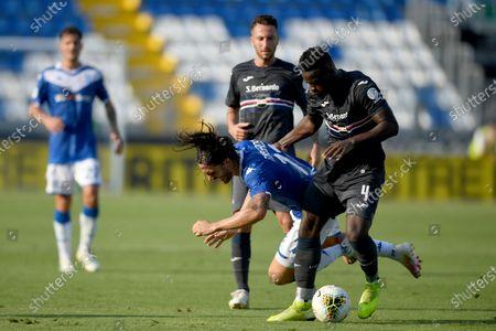 Ernesto Torregrossa (Brescia) Ronaldo Vieira Nan (Sampdoria)