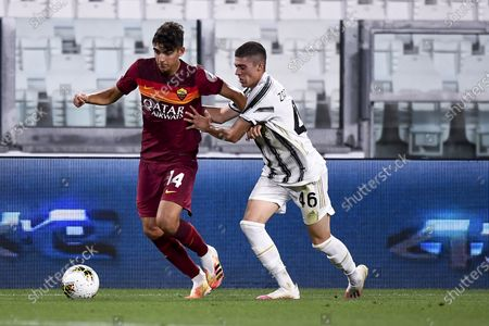 Editorial picture of Juventus v Roma, Serie A, Football, Allianz Stadium, Turin, Italy - 01 Aug 2020