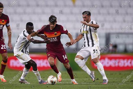 Blaise Matuidi (Juventus) Gonzalo Villar (Roma) Marco Olivieri (Juventus)